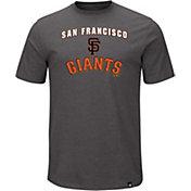 Majestic Men's San Francisco Giants Stoked Grey T-Shirt