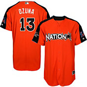 Majestic Men's 2017 National League Marcell Ozuna Home Run Derby Cool Base Jersey
