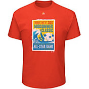 Majestic Men's 2017 MLB All-Star Game Orange T-Shirt