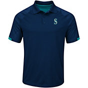 Majestic Men's Seattle Mariners Cool Base Navy Polo