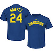 Majestic Men's Seattle Mariners Ken Griffey Jr. #24 Royal T-Shirt