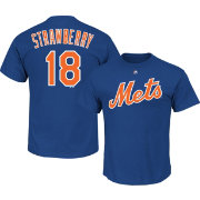 Majestic Men's New York Mets Darryl Strawberry #18 Royal T-Shirt