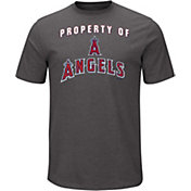 Majestic Men's Los Angeles Angels Stoked Grey T-Shirt