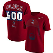 Nike Men's Los Angeles Angels Albert Pujols 600th Home Run Red T-Shirt