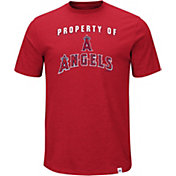 Majestic Men's Los Angeles Angels Stoked Red T-Shirt