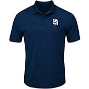 Majestic Men's San Diego Padres Cool Base Navy Polo