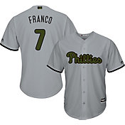 Majestic Men's Replica Philadelphia Phillies Maikel Franco #7 2017 Memorial Day Cool Base Jersey