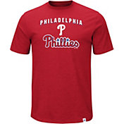 Majestic Men's Philadelphia Phillies Stoked Red T-Shirt