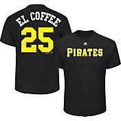 "Majestic Men's Pittsburgh Pirates Gregory Polanco ""El Coffee"" MLB Players Weekend T-Shirt"