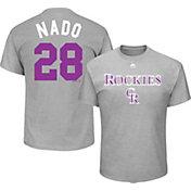 "Majestic Men's Colorado Rockies Nolan Arenado ""Nado"" MLB Players Weekend T-Shirt"