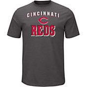 Majestic Men's Cincinnati Reds Stoked Grey T-Shirt