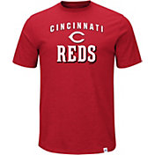 Majestic Men's Cincinnati Reds Stoked Red T-Shirt