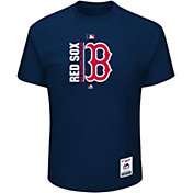 Majestic Men's Boston Red Sox Authentic Collection Navy T-Shirt
