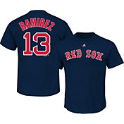 Majestic Men's Boston Red Sox Hanley Ramirez #13 Navy T-Shirt