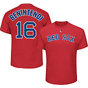 Majestic Men's Boston Red Sox Andrew Benintendi #16 Red T-Shirt