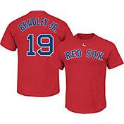 Majestic Men's Boston Red Sox Jackie Bradley Jr. #19 Red T-Shirt