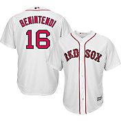 Majestic Men's Replica Boston Red Sox Andrew Benintendi #16 Cool Base Home White Jersey