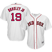 Majestic Men's Replica Boston Red Sox Jackie Bradley Jr. #19 Cool Base Home White Jersey