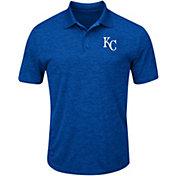 Majestic Men's Kansas City Royals Cool Base Royal Polo