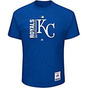 Majestic Men's Kansas City Royals Authentic Collection Royal T-Shirt