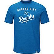 Majestic Men's Kansas City Royals Stoked Royal T-Shirt