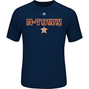 "Majestic Men's Houston Astros Cool Base ""H-Town"" Navy Performance T-Shirt"