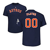 Majestic Men's Full Roster Replica 2017 World Series Houston Astros Navy T-Shirt