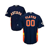 Majestic Men's Full Roster Replica 2017 World Series Houston Astros Cool Base Alternate Navy Jersey