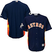 Majestic Men's 2017 World Series Champions Replica Houston Astros Cool Base Alternate Navy Jersey
