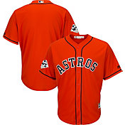 Majestic Men's 2017 World Series Replica Houston Astros Cool Base Alternate Orange Jersey