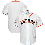 Majestic Men's 2017 World Series Champions Replica Houston Astros Cool Base Home White Jersey