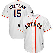 Majestic Men's 2017 World Series Replica Houston Astros Carlos Beltran Cool Base Home White Jersey