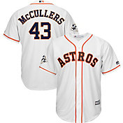 Majestic Men's 2017 World Series Replica Houston Astros Lance McCullers Cool Base Home White Jersey