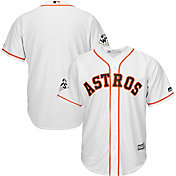Majestic Men's 2017 World Series Replica Houston Astros Cool Base Home White Jersey