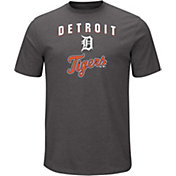 Majestic Men's Detroit Tigers Stoked Grey T-Shirt