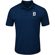 Majestic Men's Detroit Tigers Cool Base Navy Polo