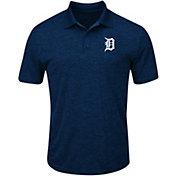 Majestic Men's Detroit Tigers Cool Base Navy Polo
