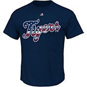 Majestic Men's Detroit Tigers Navy Americana T-Shirt