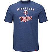 Majestic Men's Minnesota Twins Stoked Navy T-Shirt