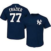 Majestic Men's New York Yankees Clint Frazier #77 Navy T-Shirt