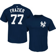 Majestic Men's New York Yankees Clint Frazier #77 Navy T-Shirt