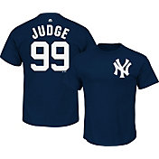 Majestic Men's New York Yankees Aaron Judge #99 Navy T-Shirt
