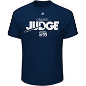Majestic Men's New York Yankees Aaron Judge Navy T-Shirt
