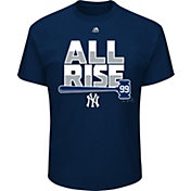 "Majestic Men's New York Yankees Aaron Judge ""All Rise"" Navy T-Shirt"