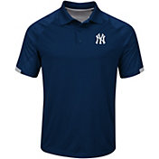 Majestic Men's New York Yankees Cool Base Navy Polo