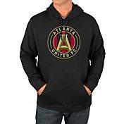 Majestic Men's Atlanta United Logo Black Pullover Hoodie