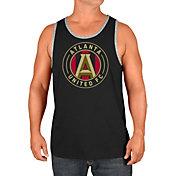 Majestic Men's Atlanta United Team Logo Black Tank Top
