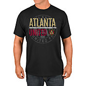 Majestic Men's Atlanta United Logo Black T-Shirt