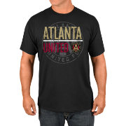 Majestic Men's Atlanta United Logo Black T-Shirt