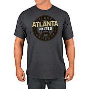 Majestic Men's Atlanta United Wordmark Charcoal T-Shirt